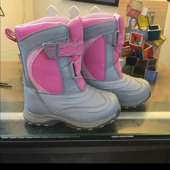 Ll Bean Girls Snow Boots Sz